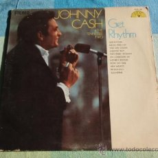 Discos de vinilo: JOHNNY CASH & THE TENNESSEE TWO ( GET RHYTHM ) NASHVILLE - USA LP33 SUN. Lote 8861264