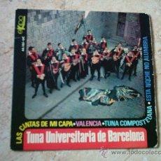 Discos de vinilo: EP- TUNA UNIVERSITARIA DE BARCELONA. Lote 8871023