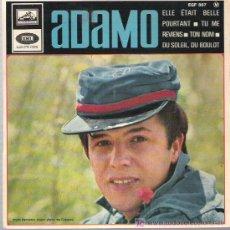 Discos de vinilo: ADAMO - ELE ETAIT BELL *** EP EMI 1965. Lote 11306068