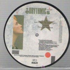 Discos de vinilo: EURITHMICS - PICTURE VINYL *** PAINT A RUMOUR ** RCA 1983. Lote 14284364