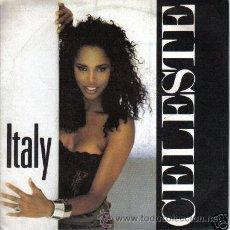 Discos de vinilo: CELESTE JOHNSON ITALY - LET ME BE 45 SINGLE ITALO DISCO. Lote 8893412