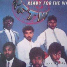 Discos de vinilo: READY FOR THE WORLD,DEL 85. Lote 8895987