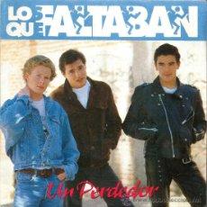 Discos de vinilo: LOS QUE FALTABAN - UN PERDEDOR - SUICIDA - SANNI RECORDS 1991 - NUEVO DE TIENDA.. Lote 26294510