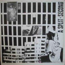 Discos de vinilo: A SPLIT SECOND. 1987. RAYA RECORDS 002. 1 MAXI - SINGLE 45 RPM. Lote 8924747