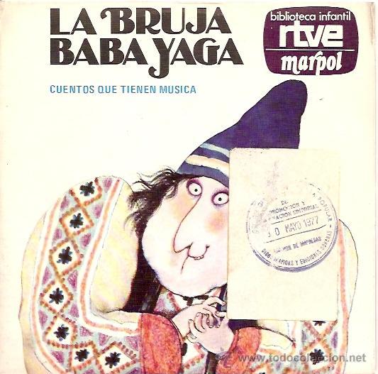 LA BRUJA YAGA CUENTO SINGLE SELLO RCA AÑO 1975 (Música - Discos - Singles Vinilo - Otros estilos)