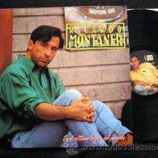 Discos de vinilo: RICARDO MONTANER LP EN EL ULTIMO LUGAR DEL MUNDO ARGENTINA. Lote 46117302