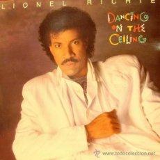 Dischi in vinile: LIONEL RICHIE - DANCING ON THE CEILING LP DOBLE PORTADA 1986. Lote 8931833