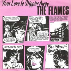 Discos de vinilo: THE FLAMES - YOUR LOVE IS SLIPPIN`AWAY / THAT`S WHAT YOU TOLD ME *** THRUST ** 1982. Lote 13188438