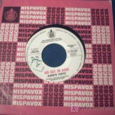 Discos de vinilo: ALBERTO CORTEZ:NO SOY DE AQUI +LA SOLEDAD/SINGLE/1971/NUEVO!!!! PEPETO. Lote 8942104