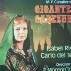 Discos de vinilo: ISABEL RIVAS,GIGANTES Y CABEZUDOS. Lote 236415225