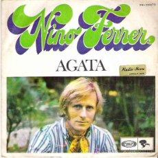 Discos de vinilo: NINO FERRER - AGATA / DONNA ROSA****MOVIEPLAY 1969 RARO. Lote 11306075