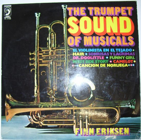 FINN ERIKSEN - THE TRUMPET SOUND OF MUSICALS - LP 1972 (Música - Discos - LP Vinilo - Orquestas)