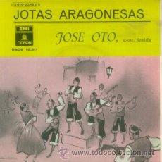 Dischi in vinile: JOSE OTO - JOTAS ARAGONESAS - EP RARO DE VINILO DE 1959. Lote 8965699