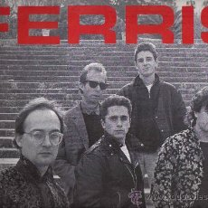 Discos de vinilo: LP FERRIS EN LA CARA A / JA T´HO DIRE EN LA CARA B - EN TOTAL 8 CANCIONES. Lote 21550423