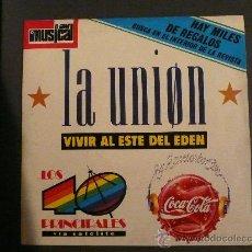 Discos de vinilo: LA UNION+LA DAMA SE ESCONDE. Lote 27450059
