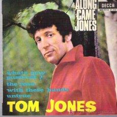 Discos de vinilo: TOM JONES - ALONG CAMES JONES*** EP 1965. Lote 12292242