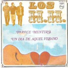 Discos de vinilo: LOS H H - PARECE MENTIRA / UN DIA DE AQUEL VERANO *** PHILIPS 1969. Lote 12685123