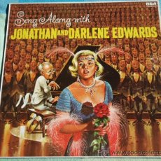 Discos de vinilo: JOHNATHAN AND DARLENE EDWARDS AND THE SING ALONG CHORALE 1962 - LONDON LP33 RCA. Lote 9000742