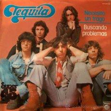 Discos de vinilo: TEQUILA - MAXI - NECESITO UN TRAGO / BUSCANDO PROBLEMAS. Lote 18602029