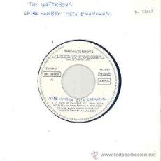 Disques de vinyle: THE WATERBOYS - A MAN IS IN LOVE / SINGLE PROMOCIONAL ESPAÑOL DE 1990. Lote 9009550