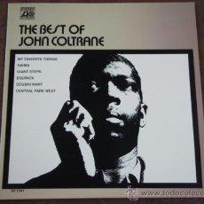 Discos de vinilo: JOHN COLTRANE ( THE BEST OF JOHN COLTRANE ) NEW YORK - USA 1970 LP33 ATLANTIC. Lote 9011422