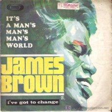 Discos de vinilo: JAMES BROWN - IT`S A MAN`S MAN`S WORLD **** SONOPLAY 1967. Lote 12199064
