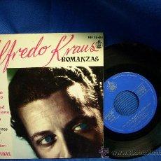 Discos de vinilo: - ALFREDO KRAUS - ROMANZAS DE ZARZUELAS+ 3 - EP - 1959. Lote 18459859