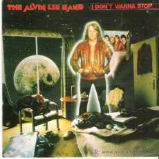 Discos de vinilo: THE ALVIN LEE BAND - I DON`T WANNA STOP *** MOVIPLAY 1981. Lote 14122216