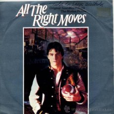 Discos de vinilo: ALL THE RIGHT MOVES - DAVID CAMPBELL / ALL THE RIGHT MOVES / LOVE THEME FROM (SINGLE 83). Lote 9031703