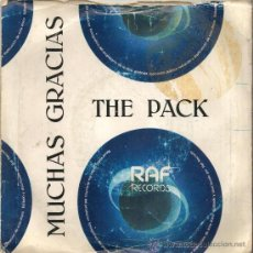 Vinyl records - THE PACK - MUCHAS GRACIAS - LIME LIGHT - RAF RECORDS 1981 - . - 27089456