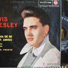 Discos de vinilo: ELVIS PRESLEY : LA NOVIA DE MI MEJOR AMIGO; BESAME PRONTO; 1963. RCA 3-20586. 1 SINGLE 45 RPM. Lote 9069943