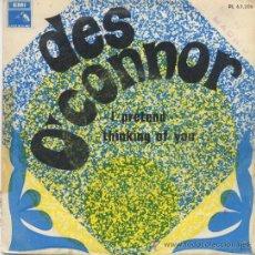 Discos de vinilo: DES O,CONNOR,I PRETEND,DEL 68. Lote 9055371
