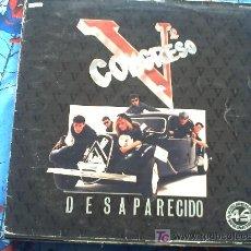 Discos de vinilo: V CONGRESO ··· DESAPARECIDO - (MAXI SINGLE 45 RPM). Lote 9074998