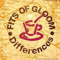 Discos de vinilo: FITS OF GLOOM - DIFFERENCES MAXI SINGLE PROMO 1991. Lote 9069219