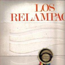 Discos de vinilo: LP LOS RELAMPAGOS - SEIS PISTAS . Lote 26638765