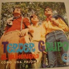 Discos de vinilo: TERCER GRUPO. EL BUHONERO + COMO UNA PALOMA. AÑO 1968. EXCELENTE CONSERVACIÓN!!!!!!!. Lote 27620452