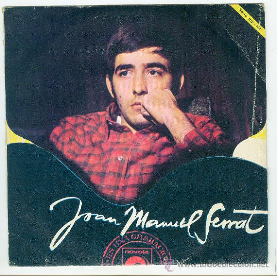 Discos de vinilo: joan manuel serrat - novola, 1968 - la,la,la / mis gaviotas - Foto 2 - 24014241