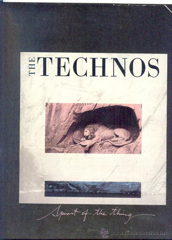 THE TECHNOS - 1984 SPIRIT OF THE THING/VISIONS OF THE NIGHT (Música - Discos - Singles Vinilo - Disco y Dance)