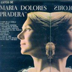 Discos de vinilo: MARIA DOLORES PRADERA ,CON LOS GEMELOS ZAFIRO,1970- 12 TEMAS. Lote 24191199
