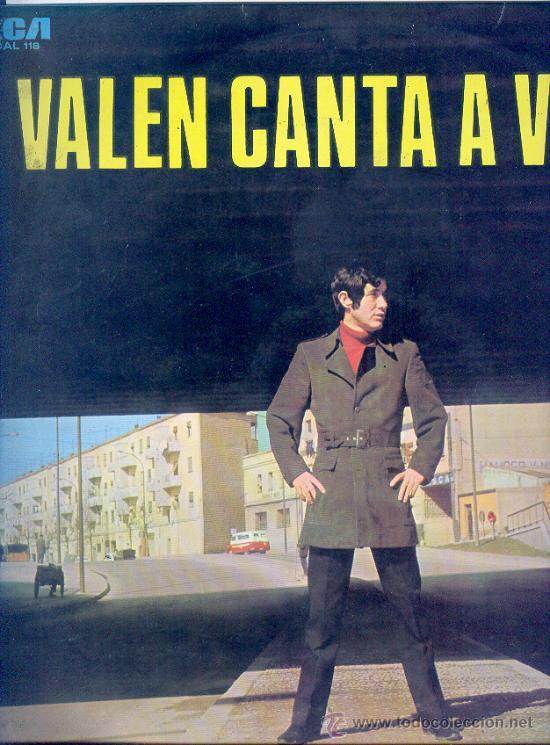 VALEN - VALEN CANTA A VALEN - CAMDEN , 1969- LA MANO DE DIOS, LA CARRETA, EN UN MUNDO EXTRAÑO ETC. , (Música - Discos - LP Vinilo - Solistas Españoles de los 50 y 60)