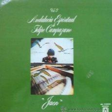 Discos de vinilo: ANDALUCIA ESPIRITUAL DE FELIPE CAMPUZANO VOL. 3 JAEN. Lote 9095395