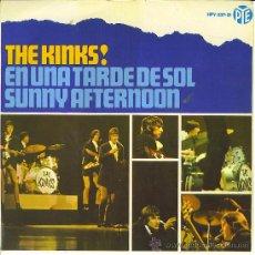 Discos de vinilo: THE KINKS EP EN UNA TARDE DE SOL Y 3+.....ORIGINAL VINILO...SANNA. Lote 15537027