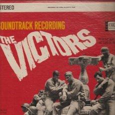 Discos de vinilo: BANDA SONORA DEL FILM THE VICTORS LP SELLO COLPIX EDITADO EN USA.. Lote 9097214