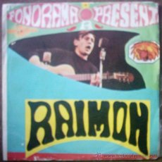 Discos de vinilo: FONORAMA PRESENTA A RAIMON. Lote 26982039