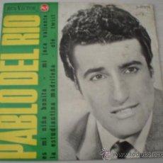 Discos de vinilo: PABLO DEL RIO. ES MI NIÑA BONITA + 3. AÑO 1965. Lote 9178177