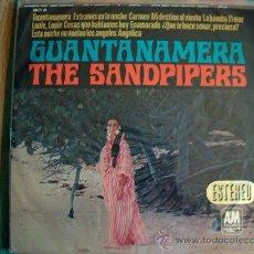 Discos de vinilo: LP - THE SANDPIPERS - GUANTANAMERA - ORIGINAL ESPAÑOL, AM RECORDS 1966. Lote 13374072