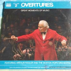 Discos de vinilo: ARTHUR FIEDLER AND THE BOSTON POPS ORCHESTRA ( GREAT MOMENTS OF MUSIC ) VOL.2 LP33. Lote 9187772