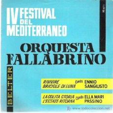 Discos de vinilo: ENNIO SAGIUSTO / ELLA MARI PASSINO *** BELTER 1962 EP. Lote 12450496