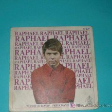 Discos de vinilo: RAFAEL. SINGLE 1967. NOCHE DE RONDA Y PERDONAME MI VIDA. Lote 26913945