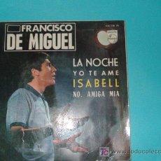 Discos de vinilo: FRANCISCO DE MIGUEL. Lote 9198186